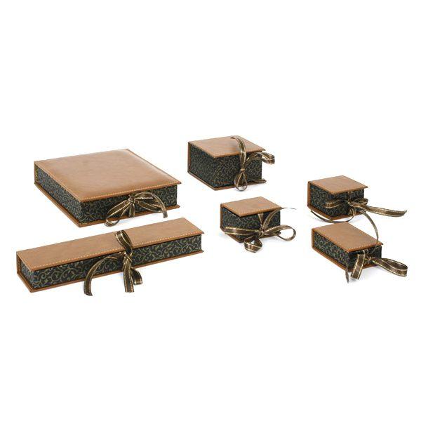 ZSKK-003 Suni Deri Kapaklı Kutular